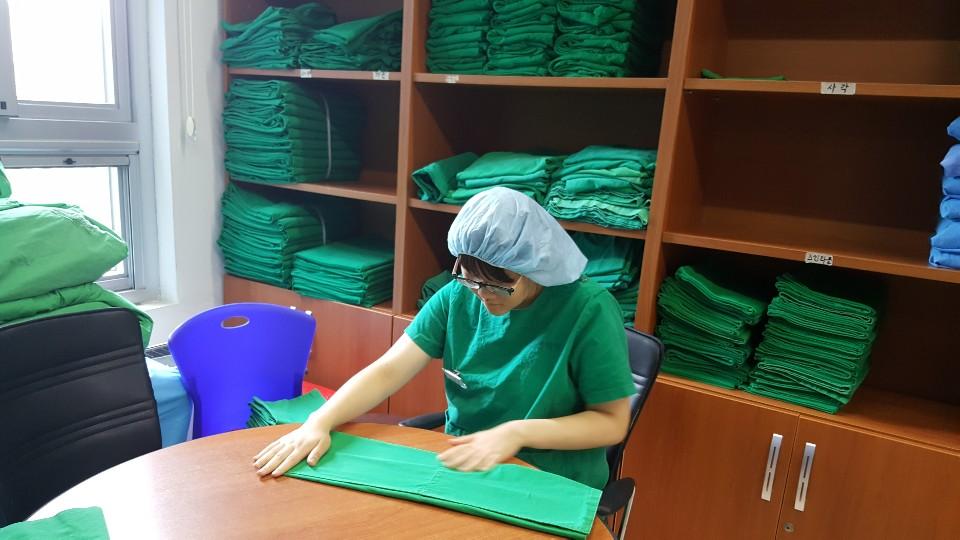 장애학생 현장중심 맞춤형 일자리사업 현장훈련 진행
